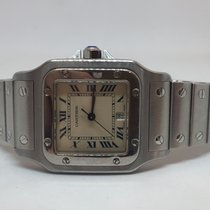 Cartier Steel 29mm Quartz 987901 pre-owned