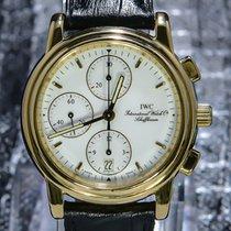 IWC Portofino Chronograph Gelbgold 40mm Weiß Keine Ziffern
