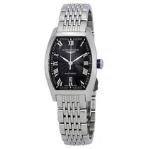 Longines Evidenza Steel 30mm Black Roman numerals United States of America, New York, New York