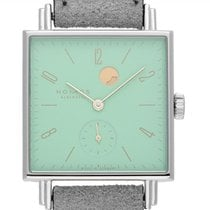 NOMOS Tetra Steel 29mm Green Arabic numerals