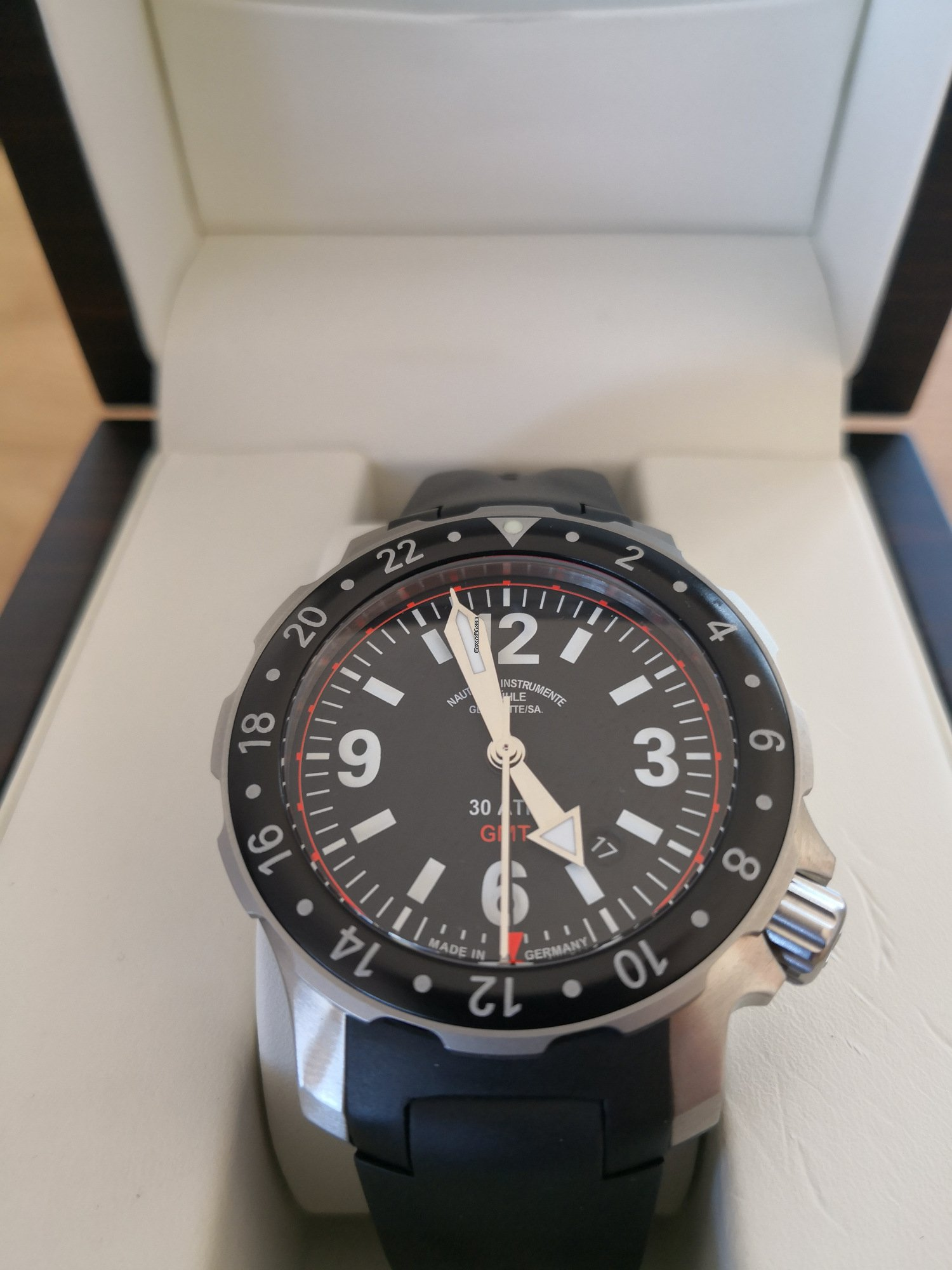 Mühle Glashütte Marinus GMT for Rp. 27,164,738 for sale from