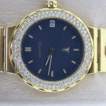 Eberhard & Co. Yellow gold Automatic Blue No numerals pre-owned