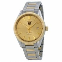 TAG Heuer Gold/Steel 39mm Automatic WAR215A.BD0783 new
