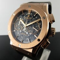 Hublot Classic Fusion Aerofusion Rose gold 45mm Transparent No numerals