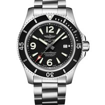 Breitling Superocean II 44 new Automatic Watch with original box and original papers A17367D71B1A1