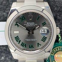 Rolex Datejust Steel Grey