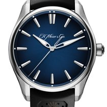 H.Moser & Cie. 3200-1200 Steel 42.8mm new