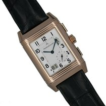 Jaeger-LeCoultre Grande Reverso Duo Or rose 46.5mm Argent