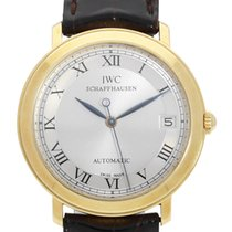 IWC Yellow gold Automatic 34.5mm pre-owned Portofino Automatic