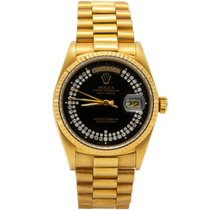 Rolex Day-Date pre-owned Yellow gold