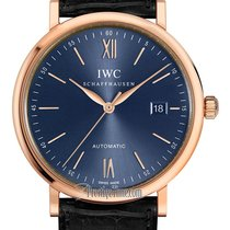 IWC Portofino Automatic Rose gold 40mm Blue United States of America, New York, Airmont
