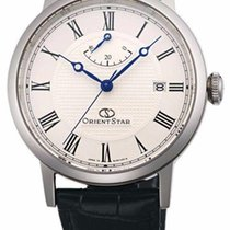 Orient new Power Reserve Display 38.7mm Steel Sapphire crystal