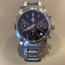Girard Perregaux Ferrari 8020 Chronograph Blue Dial Bueno Acero y oro 38mm Automático