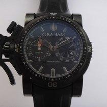 Graham Chronofighter Oversize gebraucht 46mm Stahl