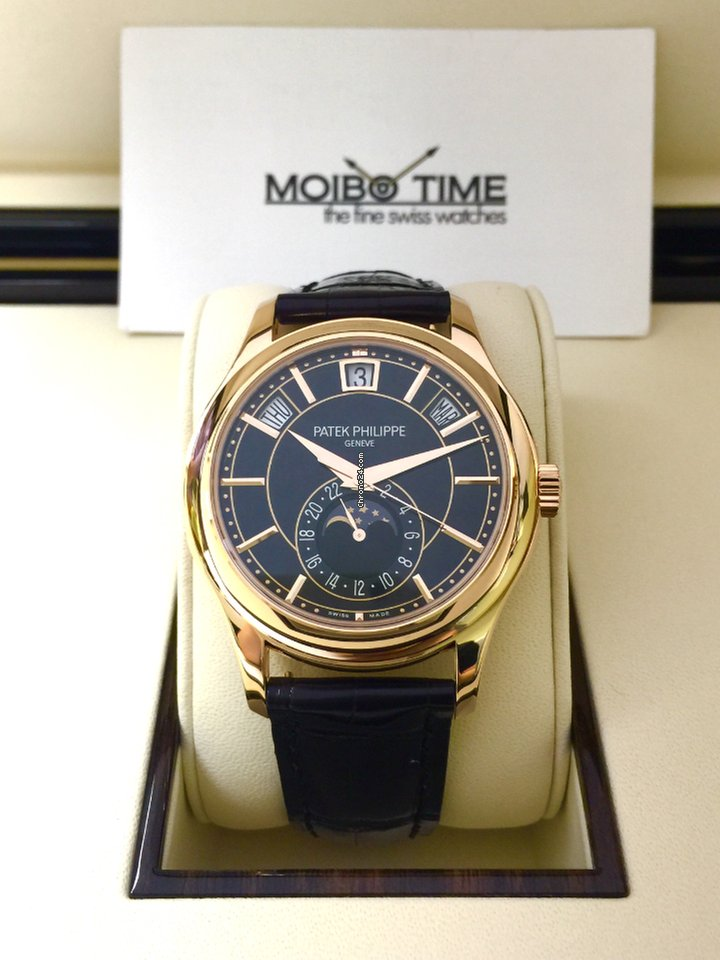 1441ed9b0ee Patek Philippe 5205R-010 Rose Gold Men Complications 40mm  NEW