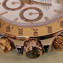 Rolex DAYTONA ST GG REF 16523 ZENITH++WIE NEU++B&P ROLEX REVI GA