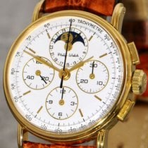 Philip Watch Goud/Staal 32mm Handopwind 3063 tweedehands