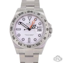 Rolex Explorer ii | White Dial Stainless Steel Date | 42mm 216570