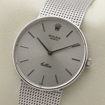 롤렉스 (Rolex) Cellini 18 K Gold 750 Weissgold Handaufzug Manual