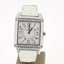Jaeger-LeCoultre Reverso Squadra Lady diamonds Steel (B&P2...