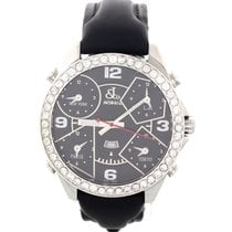 Jacob & Co. Steel 48mm Quartz Five Time Zone pre-owned United States of America, New York, New York