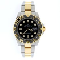 Rolex GMT Master II ceramic gold and steel