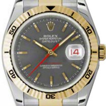 Rolex Datejust Turn-O-Graph Gold/Steel 36mm Grey No numerals United States of America, New York, New York
