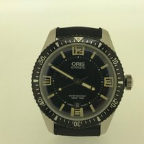 Oris 40mm Automatic pre-owned Divers Sixty Five Black
