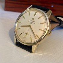 Omega Seamaster 30 Sub Dial 1962 mens vintage gold watch + Box