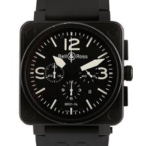 Bell & Ross Chronograph 46mm Automatic 2013 pre-owned BR 01-94 Chronographe Black