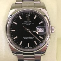 Rolex Oyster Perpetual Date pre-owned 34mm Steel