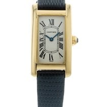 Cartier Tank Américaine Yellow gold 19mm Silver United States of America, Georgia, Atlanta