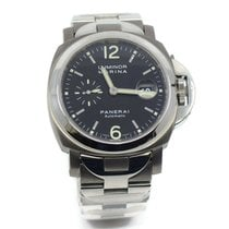 Panerai Women's watch Luminor Marina Automatic 44mm Automatic pre-owned Watch with original box and original papers