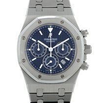 Audemars Piguet Royal Oak Chronograph Steel 39mm Blue