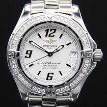 Breitling Colt Oceane Steel 34mm Silver Arabic numerals