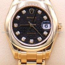 Rolex 81208 Oro amarillo 2015 Pearlmaster 34mm nuevo