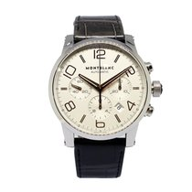 Montblanc Timewalker Steel 43mm White Arabic numerals