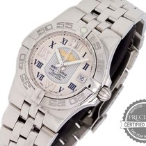 Breitling Steel Quartz White Roman numerals 30mm new Galactic 30