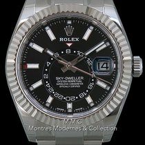 Rolex Sky-Dweller Steel 42mm Black No numerals