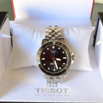 Tissot Seastar 1000 Zeljezo 43mm Crn Bez brojeva