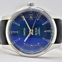 Omega De Ville Hour Vision Acero 41mm Azul Sin cifras