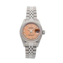 Rolex Lady-Datejust Stahl 26mm Pink Römisch
