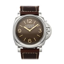 Panerai Special Editions Steel 47mm Brown Arabic numerals United States of America, Pennsylvania, Bala Cynwyd