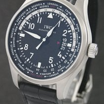 IWC Pilot Worldtimer Staal 45mm