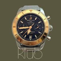 Breitling Superocean Héritage Chronograph usados 43mm Acero y oro