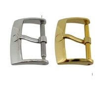 Omega NEW buckle 14 mm 16mm 18mm 10 and 12 steel, gold plated...