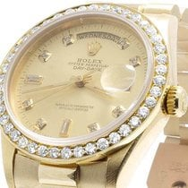 Rolex Mens Rolex 18K Yellow Gold President 18038 Day-Date 36MM...