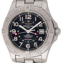 Breitling : Colt GMT :  A32350 :  Stainless Steel
