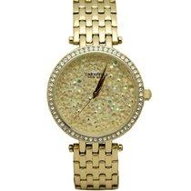 Bulova 44L184 Women's Crystal Yellow Watch