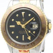 ロレックス GMT Master Automatic Stainless Steel,Yellow Gold Men's...